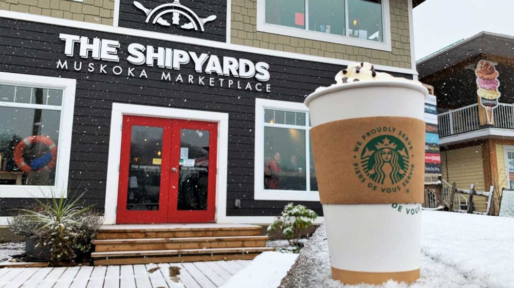 Wheelhouse Café & The Shipyards Muskoka Marketplace